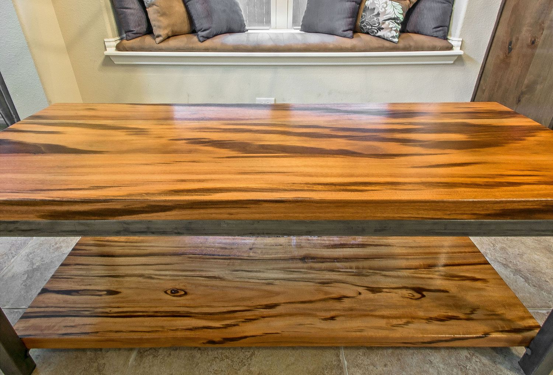 tigerwood solid hardwood tables furniture