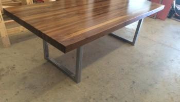 Walnut Strip Table